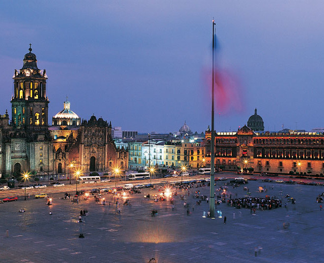 24. Zocalo-background-Mexico-City-National-Palace-Metropolitan