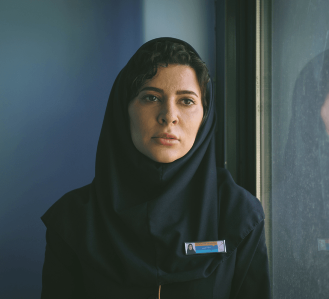 The rain falls movie, Nazanin Ahmadi